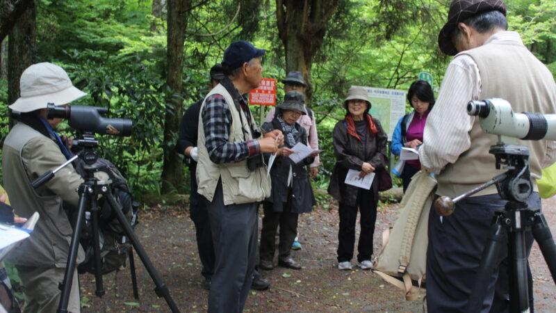 令和元年5月 特別講座「野鳥の声を聴く会」裏高尾